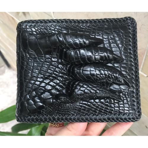 Bóp nam da cá sấu đan viền thủ công 1 mặt bàn tay - 4082610 , 10190320 , 15_10190320 , 950000 , Bop-nam-da-ca-sau-dan-vien-thu-cong-1-mat-ban-tay-15_10190320 , sendo.vn , Bóp nam da cá sấu đan viền thủ công 1 mặt bàn tay