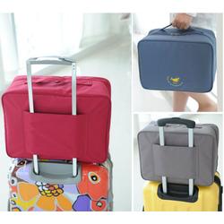 Túi xách du lịch gài vali kéo phong cách Hàn Quốc