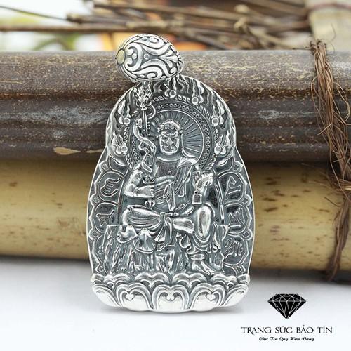 Nhập SXUON05059 Nhận Giảm Giá,Mặt Dây Chuyền Phật Bất Động Minh Vương Bát Quái  - Bảo Tín