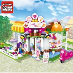 Bộ Lắp Ráp Tiệm Cafe Abby ENLIGHTEN 2003- 277 Chi Tiết!