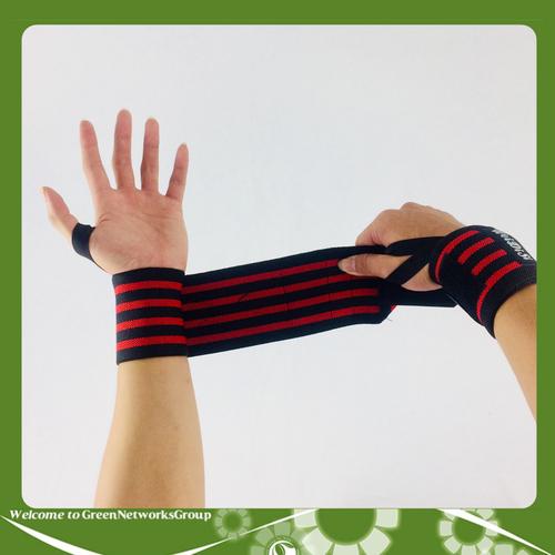 Đai quấn bảo vệ cổ tay Weidisi GreenNetworks màu đỏ