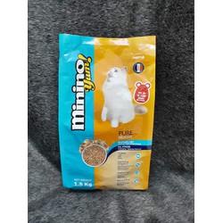 Thức ăn cho mèo hạt khô hải sản Blisk mới Blisk mới-Minino Yum 1.5kg