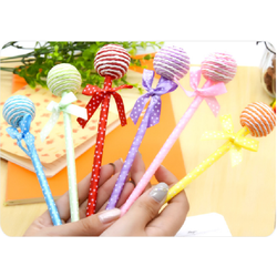 bút bi hình kẹo mút siêu cute