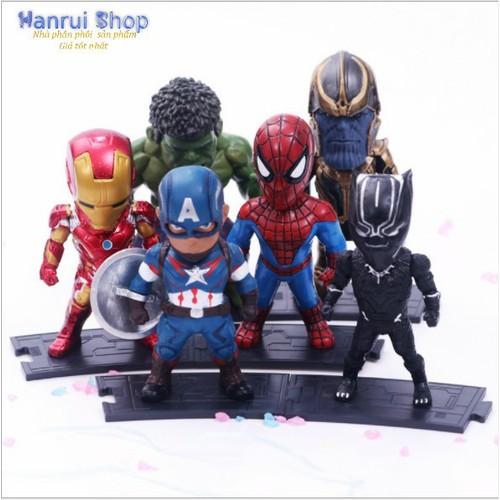 Mô hình 6 siêu anh hùng the Avengers Infinity War - 4080146 , 10185608 , 15_10185608 , 470000 , Mo-hinh-6-sieu-anh-hung-the-Avengers-Infinity-War-15_10185608 , sendo.vn , Mô hình 6 siêu anh hùng the Avengers Infinity War
