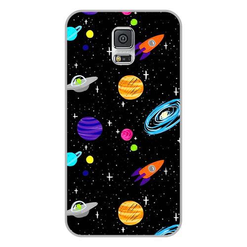 Ốp lưng điện thoại samsung galaxy s5 - space 04