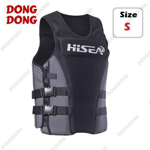 Áo phao bơi cứu hộ HISEA BLACK size S - DONGDONG