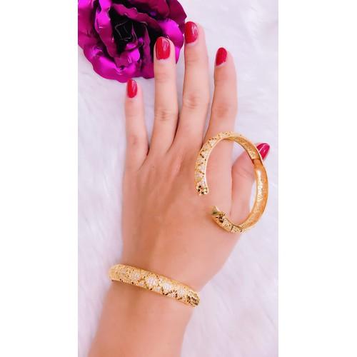vòng tay nữ xoàn màu vàng 18k - 4092763 , 10204223 , 15_10204223 , 239000 , vong-tay-nu-xoan-mau-vang-18k-15_10204223 , sendo.vn , vòng tay nữ xoàn màu vàng 18k