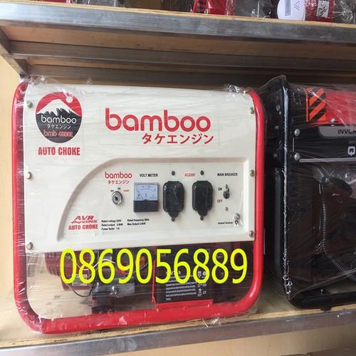 Máy phát điện chạy xăng 3Kw BMB 3800E
