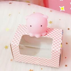 Squishy Mochi mực con dễ thương , mềm bóp đã*có hộp*