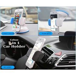 Giá đỡ điện thoại trên xe hơi Car Holder 2 in 1