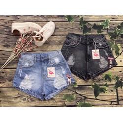 quần short jean ngắn