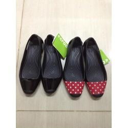 Giày Crocs. Sienna Flat hoạ tiết