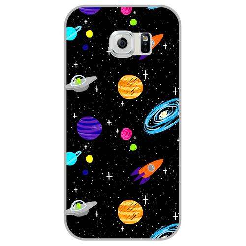 Ốp lưng điện thoại samsung galaxy s6 - space04