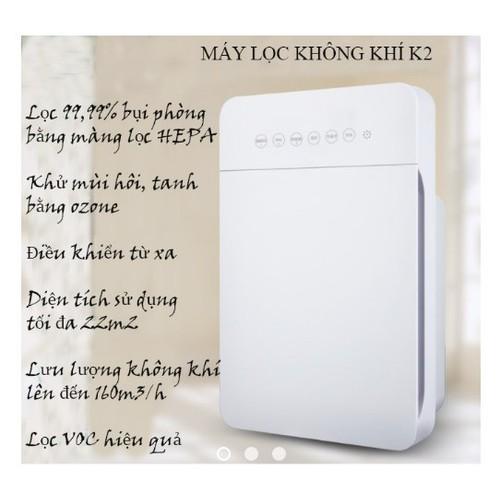 Máy lọc không khí và khử mùi gia đình K2 hông gian phòng 22m vuông - 4093141 , 10204907 , 15_10204907 , 1440000 , May-loc-khong-khi-va-khu-mui-gia-dinh-K2-hong-gian-phong-22m-vuong-15_10204907 , sendo.vn , Máy lọc không khí và khử mùi gia đình K2 hông gian phòng 22m vuông