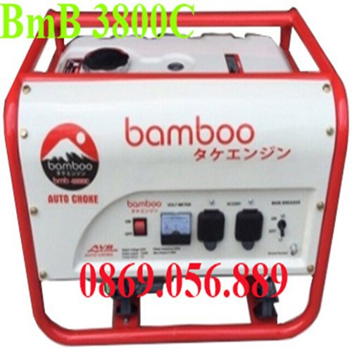 Máy phát điện Bamboo 3800 C