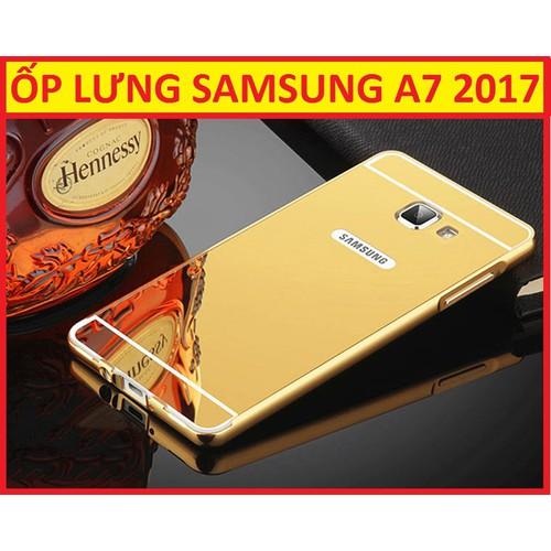 ỐP LƯNG TRÁNG GƯƠNG SAMSUNG GALAXY A7 2017
