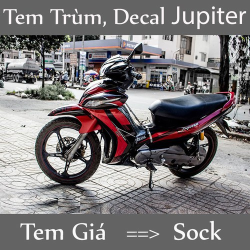 Tem Trùm Xe Jupiter Đỏ Đen - 4083416 , 10191565 , 15_10191565 , 350000 , Tem-Trum-Xe-Jupiter-Do-Den-15_10191565 , sendo.vn , Tem Trùm Xe Jupiter Đỏ Đen
