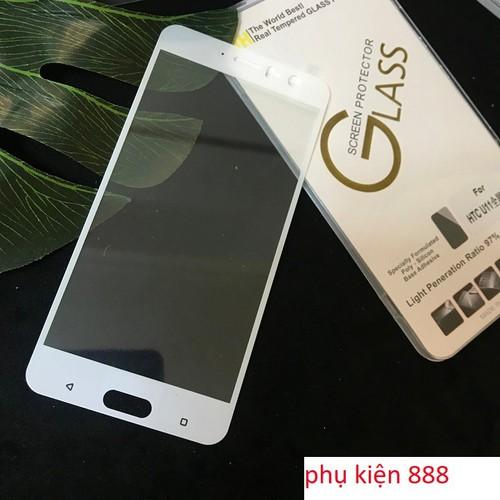 Miếng dán kính cường lực HTC U11 Full màn Glass