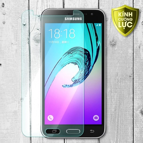 Miếng kính cường lực Samsung Galaxy J3 trong suốt