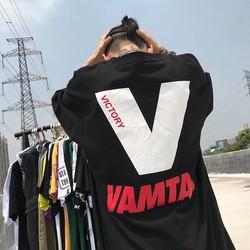 Áo thun tay lỡ unisex VAMTA 2BiShop