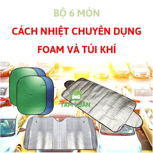 Bộ 6 tấm che nắng xe hơi ô tô chuyên dụng bạt chống nóng cho oto - 4085900 , 10194700 , 15_10194700 , 219000 , Bo-6-tam-che-nang-xe-hoi-o-to-chuyen-dung-bat-chong-nong-cho-oto-15_10194700 , sendo.vn , Bộ 6 tấm che nắng xe hơi ô tô chuyên dụng bạt chống nóng cho oto