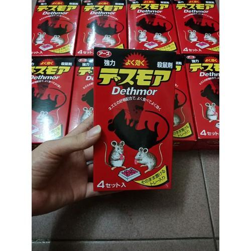 Thuốc diệt chuột Dethmor Nhật Bản - 4082719 , 10190698 , 15_10190698 , 140000 , Thuoc-diet-chuot-Dethmor-Nhat-Ban-15_10190698 , sendo.vn , Thuốc diệt chuột Dethmor Nhật Bản