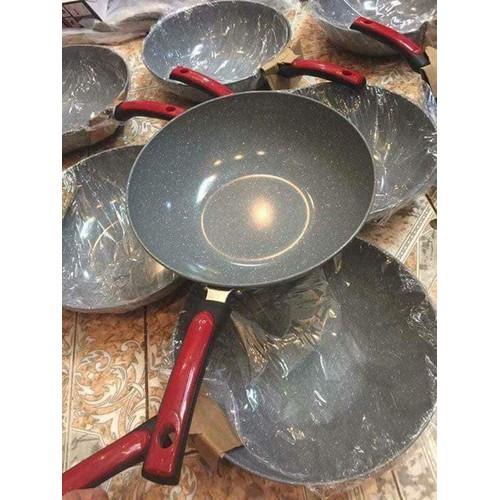Chảo sâu lòng vân đá ceramic shop gia dụng rẻ