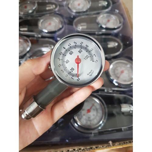 đồng hồ đo áp suất lốp ô tô, xe máy