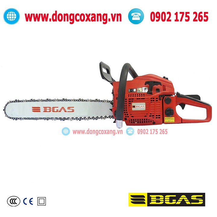 Máy cưa xích chạy xăng BGAS mã BGA5200CS