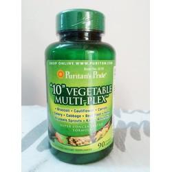 Vegetable Multi Plex 90V- Giải độc tố và tăng cường hệ miễn dịch