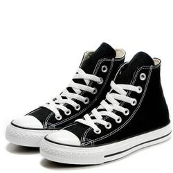 Giày Sneaker Classic Đen Trắng Cao Cổ