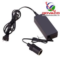 Adapter đổi nguồn từ 220VAC sang 12VDC-5A-60W cắm tẩu ô tô