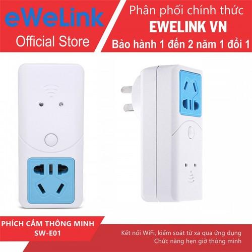 Phích Cắm WiFi Thông Minh eWeLink ES22