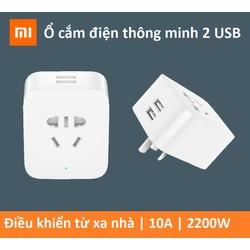 Ổ CẮM ĐIỆN THÔNG MINH WIFI 2 CỔNG USB