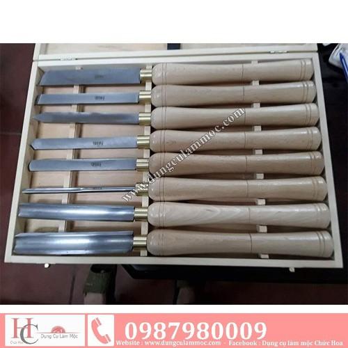 Bộ dao tiện gỗ HSS 8 cái - 4095455 , 10208417 , 15_10208417 , 1760000 , Bo-dao-tien-go-HSS-8-cai-15_10208417 , sendo.vn , Bộ dao tiện gỗ HSS 8 cái