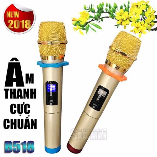 Bộ Micro CHÍNH HÃNG Ariying B 518 - Sóng UHF Siêu Cao