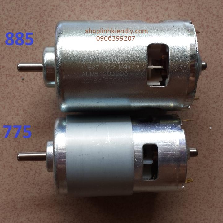 Bộ kit chế máy cưa bàn cho motor 775-795-840-885 4