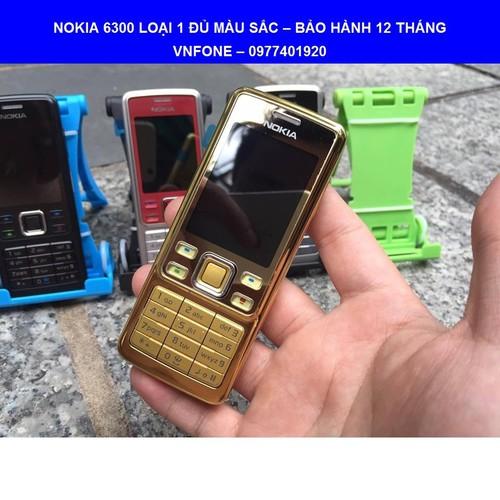 Nokia 6300 chính hãng -  BH 12 tháng