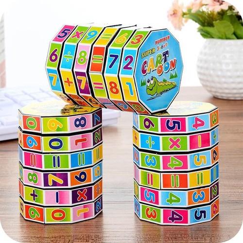 Rubik toán học cho trẻ tập tính toán