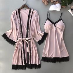 Set choàng và váy ngủ cao cấp Quảng Châu