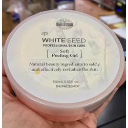 Tẩy da chết The Face Shop White Seed Peelinh Gel 150ml từ Hàn Quốc