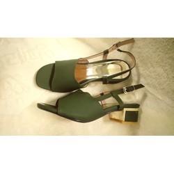 Giày Sandal xanh rêu mẫu mới 2018