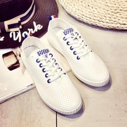 Giày mọi thời trang nữ cột dây hàng nhập