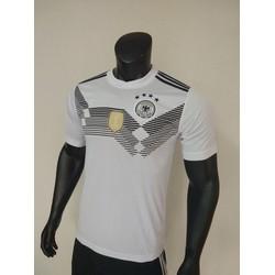 Bộ Áo Bóng đá Đức trắng có logo Vô địch WC2018!