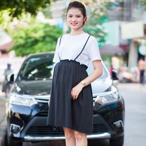 Đầm bầu thời trang xinh xắn
