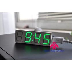 Đồng hồ điện tử DIY cắm nguồn micro USB 5V