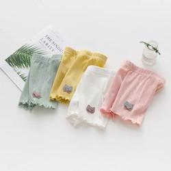 BÁN SỈ 20 cái Quần đùi cotton bé gái 4 màu siêu dễ thương