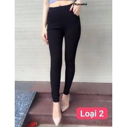 quần legging trơn nữ