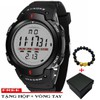 Đồng hồ nam SYNOKE S001 điện tử dây nhựa dẻo  + Tặng hộp và vòng tay