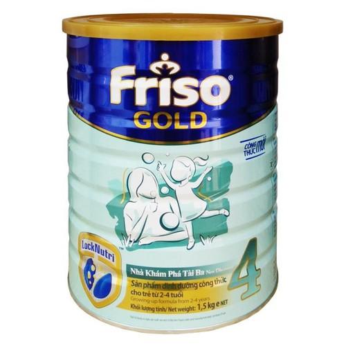Sữa bột Frisolac Gold 4 lon 1500g